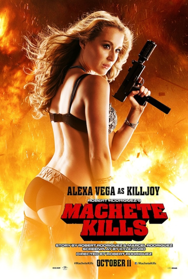 """Machete Kills"": cena, pôster e trailer novos online"