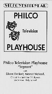 The Philco Television Playhouse: (3ª Temporada)  (The Philco Television Playhouse: (Season 3))