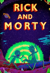 Rick and Morty (3ª Temporada) - Poster / Capa / Cartaz - Oficial 1