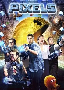 Pixels: O Filme - Poster / Capa / Cartaz - Oficial 12