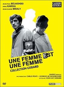 Uma Mulher é Uma Mulher - Poster / Capa / Cartaz - Oficial 4