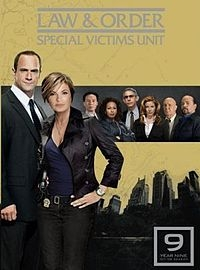 Law & Order: Special Victims Unit  (9ª Temporada) - Poster / Capa / Cartaz - Oficial 1