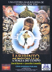 Labirinto - A Magia do Tempo - Poster / Capa / Cartaz - Oficial 3