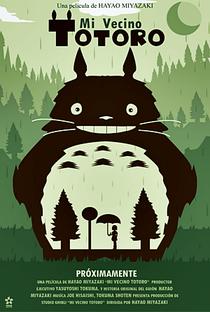 Meu Amigo Totoro - Poster / Capa / Cartaz - Oficial 12