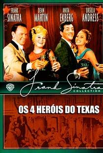 Os 4 Heróis do Texas - Poster / Capa / Cartaz - Oficial 6