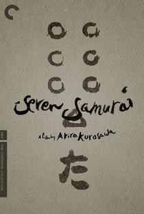 Os Sete Samurais - Poster / Capa / Cartaz - Oficial 23