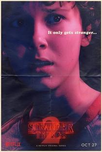 Stranger Things (2ª Temporada) - Poster / Capa / Cartaz - Oficial 5