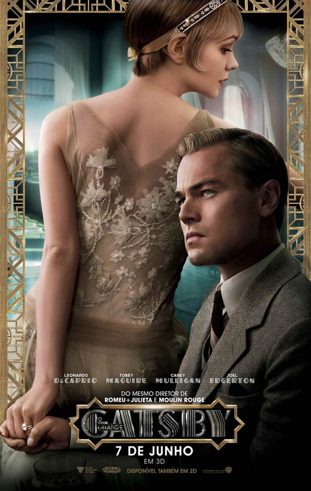 O Grande Gatsby ganha cartazes em português