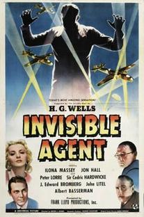 O Agente Invisível - Poster / Capa / Cartaz - Oficial 1