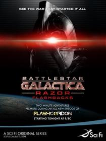 Battlestar Galactica - Razor Flashbacks - Poster / Capa / Cartaz - Oficial 1