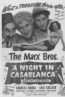 Uma Noite em Casablanca - Poster / Capa / Cartaz - Oficial 6