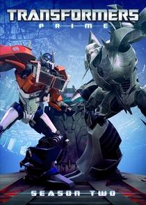 Transformers Prime: 2ª Temporada - Poster / Capa / Cartaz - Oficial 1