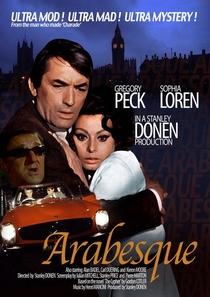 Arabesque - Poster / Capa / Cartaz - Oficial 4