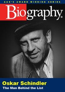 Oskar Schindler: The Man Behind the List - Poster / Capa / Cartaz - Oficial 1