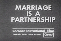 Marriage Is a Partnership - Poster / Capa / Cartaz - Oficial 1