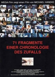 71 Fragmentos de uma Cronologia do Acaso - Poster / Capa / Cartaz - Oficial 1