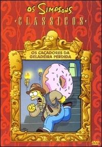 Os Simpsons - Clássicos - Os Caçadores da Geladeira Perdida - Poster / Capa / Cartaz - Oficial 1