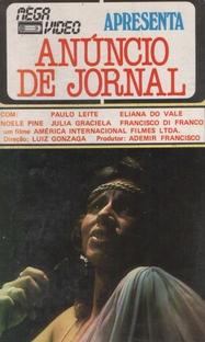 Anúncio de Jornal - Poster / Capa / Cartaz - Oficial 1