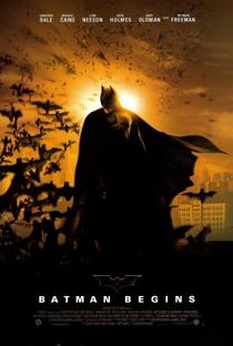 Batman Begins - Poster / Capa / Cartaz - Oficial 1