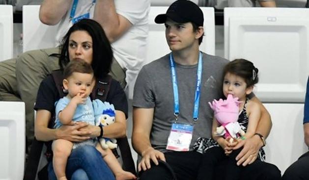 Casal Ashton Kutcher e Mila Kunis diz que não vai deixar herança para os filhos