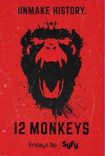 12 Monkeys (2ª Temporada) - Poster / Capa / Cartaz - Oficial 2