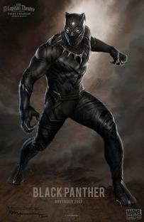 Pantera Negra - Poster / Capa / Cartaz - Oficial 13