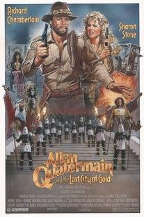 Allan Quatermain e a Cidade do Ouro Perdido - Poster / Capa / Cartaz - Oficial 1