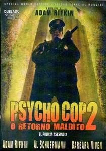 Psycho Cop 2: O Retorno Maldito - Poster / Capa / Cartaz - Oficial 8