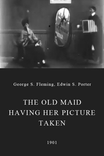 The Old Maid Having Her Picture Taken - Poster / Capa / Cartaz - Oficial 1