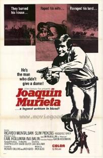 Joaquim Murieta - Poster / Capa / Cartaz - Oficial 1