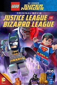 LEGO DC Comics Super-Heróis: Liga da Justiça vs. Liga Bizarro - Poster / Capa / Cartaz - Oficial 1