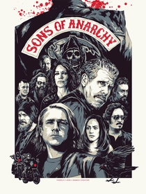 Sons of Anarchy (5ª Temporada) - Poster / Capa / Cartaz - Oficial 3