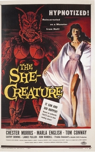 The She-Creature - Poster / Capa / Cartaz - Oficial 1