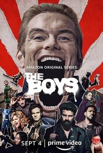 The Boys (2ª Temporada) - Poster / Capa / Cartaz - Oficial 1