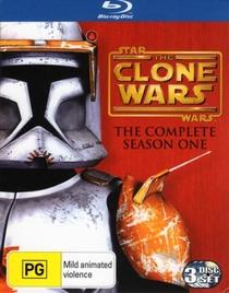 Star Wars: The Clone Wars (1ª Temporada) - Poster / Capa / Cartaz - Oficial 1