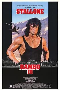 Rambo III - Poster / Capa / Cartaz - Oficial 1