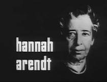 Zur Person - Entrevista com Hannah Arendt - Poster / Capa / Cartaz - Oficial 1