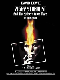 Ziggy Stardust and the Spiders from Mars  - Poster / Capa / Cartaz - Oficial 1