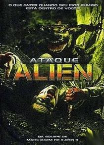 Ataque Alien - Poster / Capa / Cartaz - Oficial 1