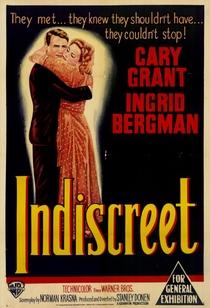 Indiscreta - Poster / Capa / Cartaz - Oficial 1