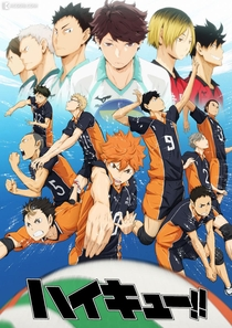 Haikyuu!! (1ª Temporada) - Poster / Capa / Cartaz - Oficial 1