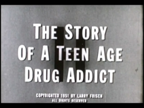H: The Story of a Teen-Age Drug Addict - Poster / Capa / Cartaz - Oficial 1