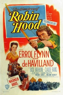 As Aventuras de Robin Hood - Poster / Capa / Cartaz - Oficial 3