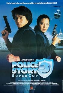 Police Story 3 - Supercop - Poster / Capa / Cartaz - Oficial 7