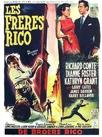 Os Irmãos Rico - Poster / Capa / Cartaz - Oficial 1