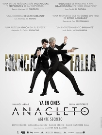 Anacleto: Agente secreto - Poster / Capa / Cartaz - Oficial 3