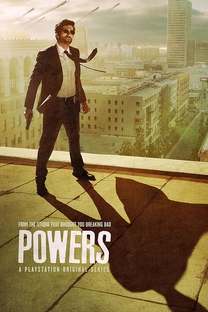 Powers (1ª Temporada) - Poster / Capa / Cartaz - Oficial 2