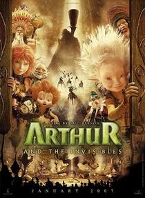 Arthur e os Minimoys - Poster / Capa / Cartaz - Oficial 3