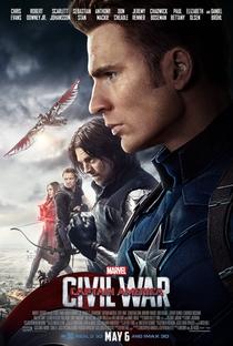 Capitão América: Guerra Civil - Poster / Capa / Cartaz - Oficial 13