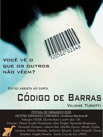 Código de Barras - Poster / Capa / Cartaz - Oficial 1